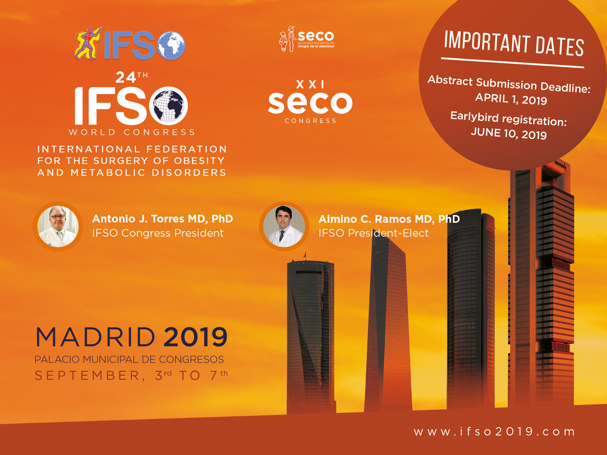 IFSO 2019 MADRID e flyer